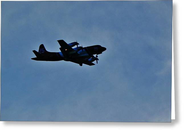 P-3 Orion Hero # 25 Greeting Card