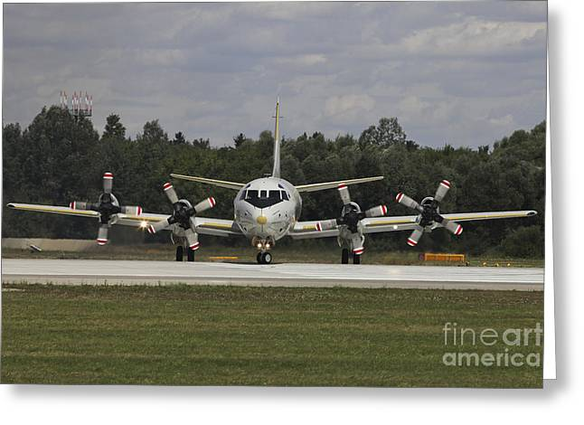 P-3c Orion Of The German Navy Greeting Card by Timm Ziegenthaler