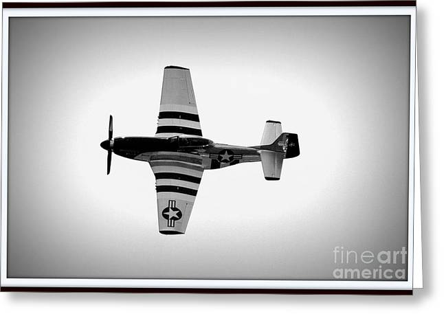 P51 King Of The Skies Greeting Card