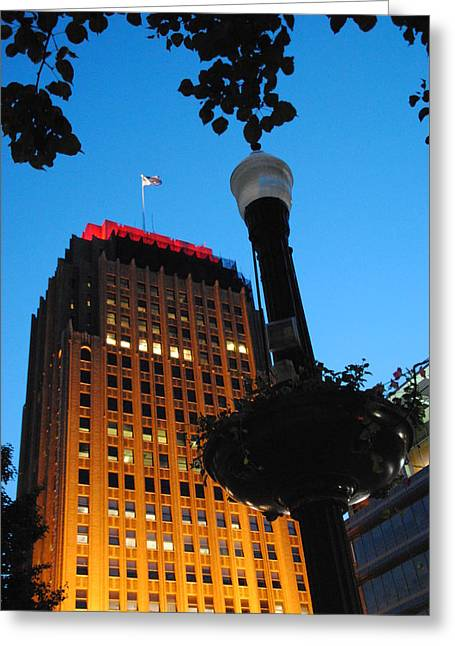 Pa Power Light And Allentown Symbol Greeting Card
