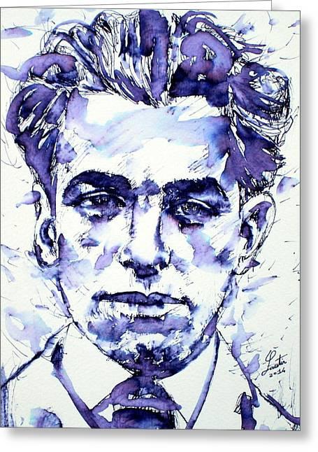 Pablo Neruda  Greeting Card