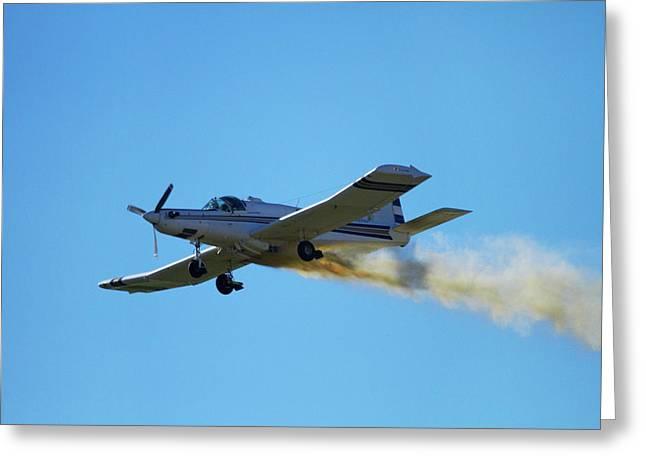 Pacific Aerospace Cresco 750, Warbirds Greeting Card by David Wall