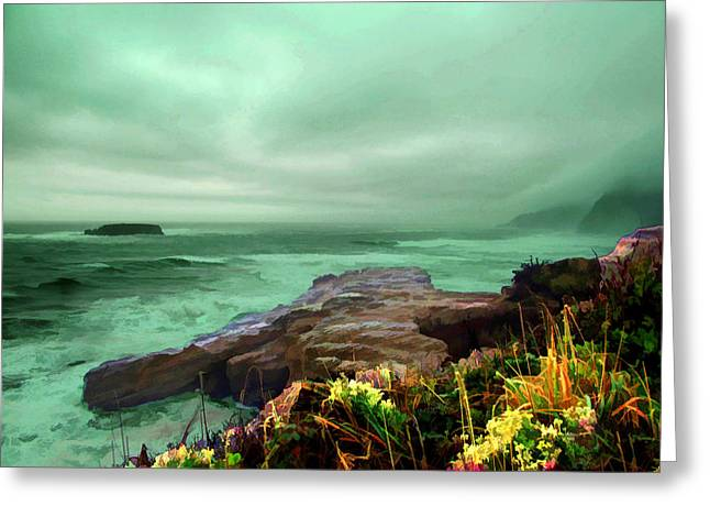 Pacific Beauty Greeting Card by Dale Stillman