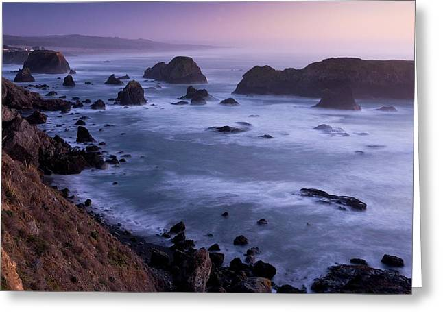 Pacific Coast Greeting Card by Bob Gibbons