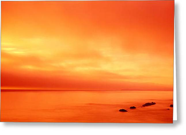 Pacific Coast Ca Greeting Card by Panoramic Images