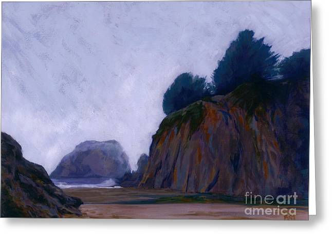 Pacific Coast Fog Greeting Card