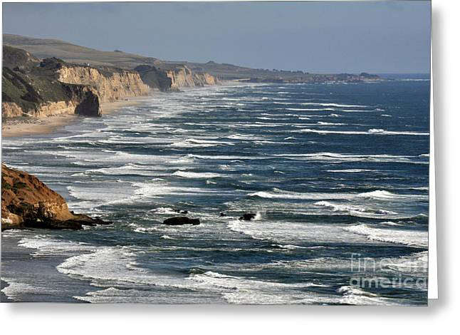Pacific Coast - Image 001 Greeting Card