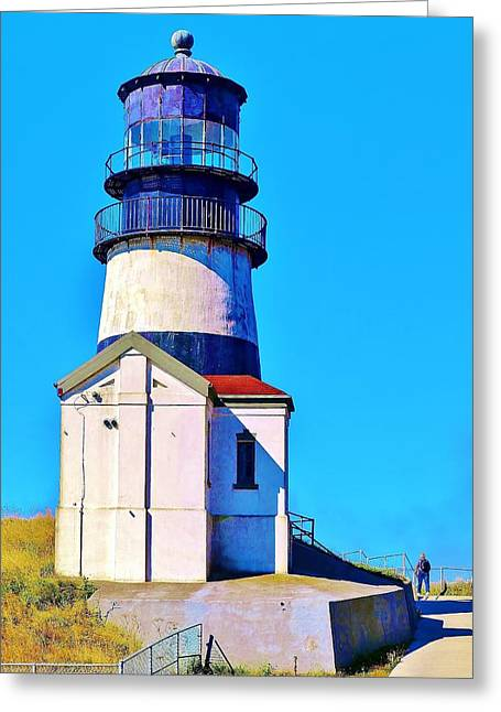Pacific Coast Light House Greeting Card