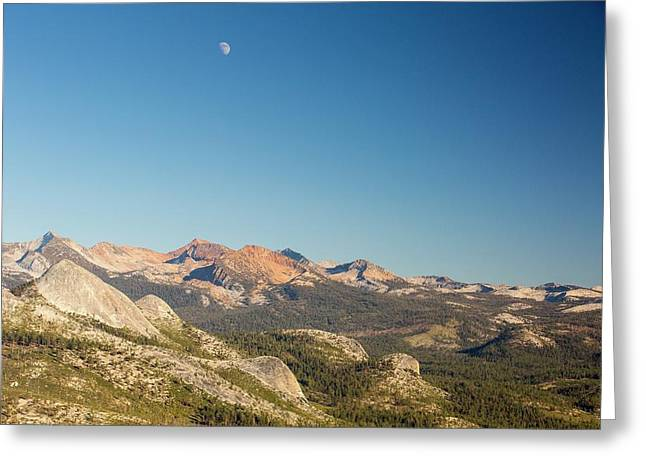 Pacific Crest Trail Mountains Greeting Card