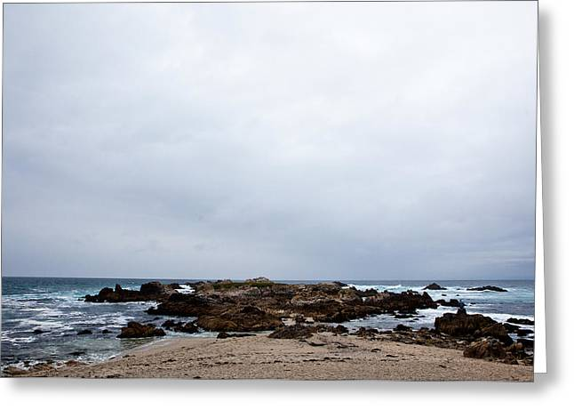 Pacific Horizon Greeting Card