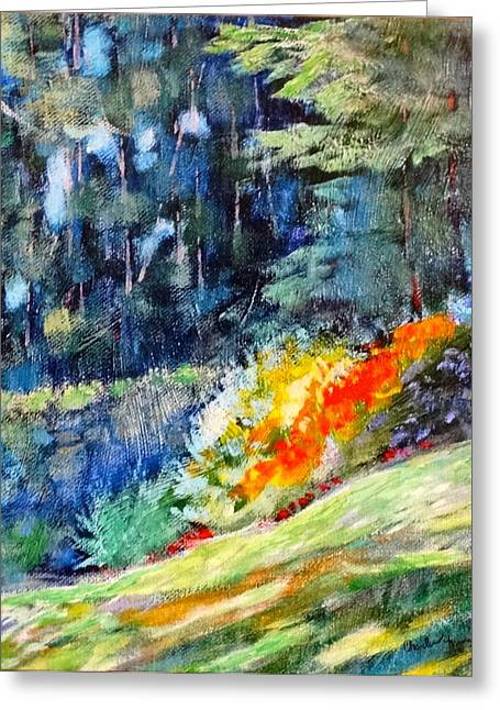 Pacific Nw Light #1 Greeting Card by Charles Munn