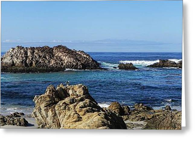 Pacific Ocean Panoramic Greeting Card