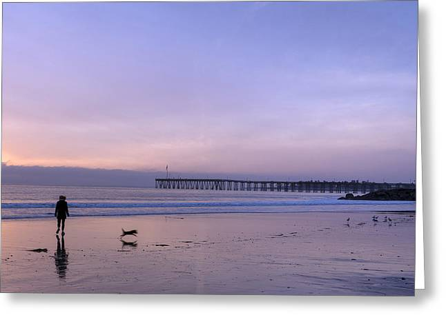 Pacific Ocean Scenic In Ventura Greeting Card by Carol M Highsmith