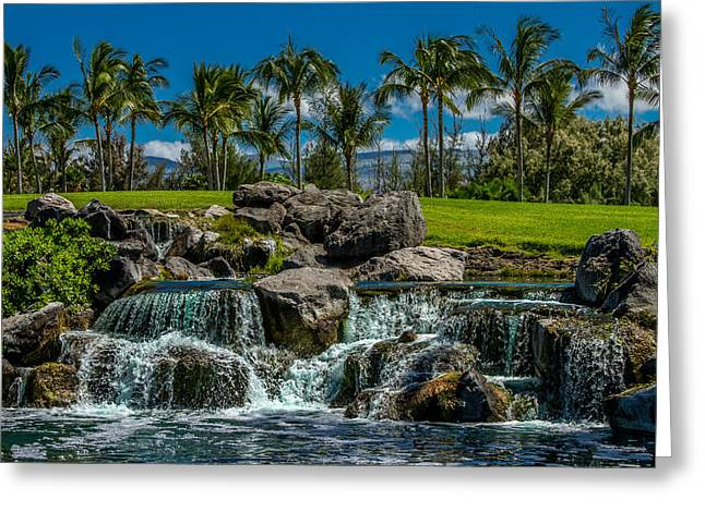 Pacific Paradise Greeting Card by Bill Gallagher
