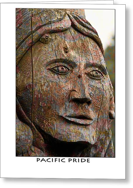 Pacific Pride Poster Greeting Card by Marie Jamieson