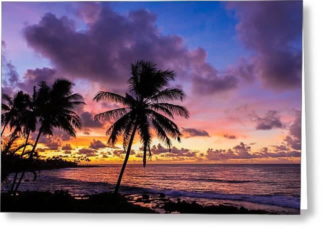 Pacific Sunrise Greeting Card