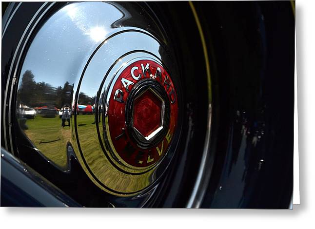 Greeting Card featuring the photograph Packard - 2 by Dean Ferreira