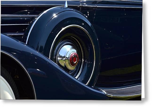 Greeting Card featuring the photograph Packard - 1 by Dean Ferreira