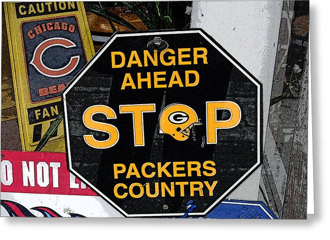 Packers Country Greeting Card
