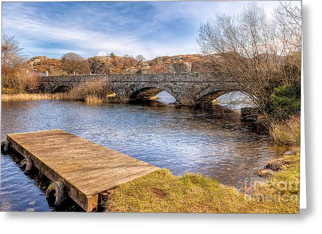 Padarn Bridge Greeting Card