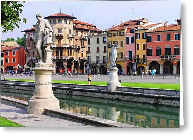 Padova Greeting Card by Oleg Zavarzin