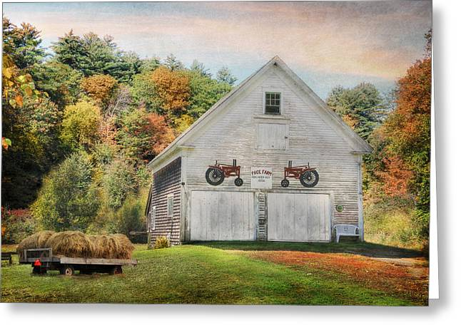 Page Farm Greeting Card by Lori Deiter