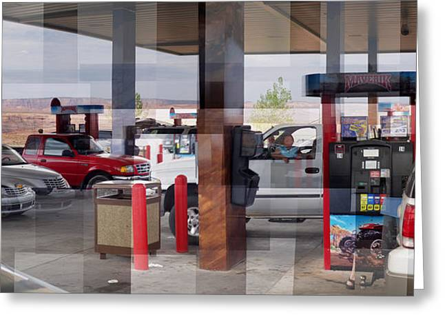 Page Gas Greeting Card