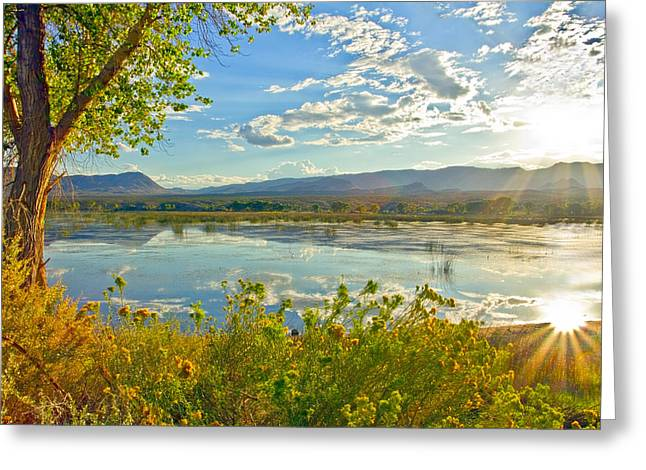 Pahranagat National Wildlife Refuge Greeting Card