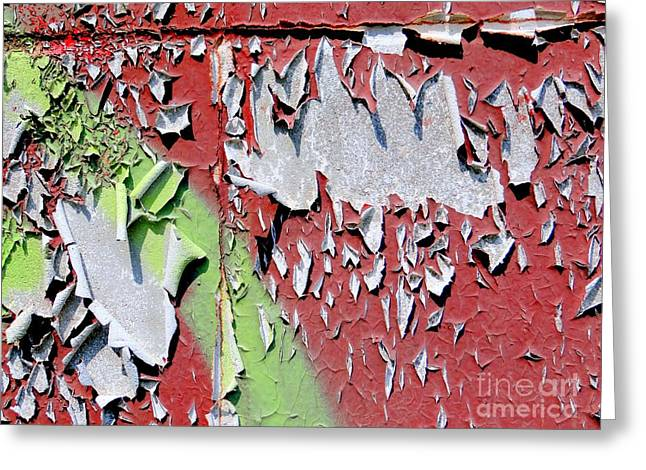 Paint Abstract Greeting Card by Ed Weidman