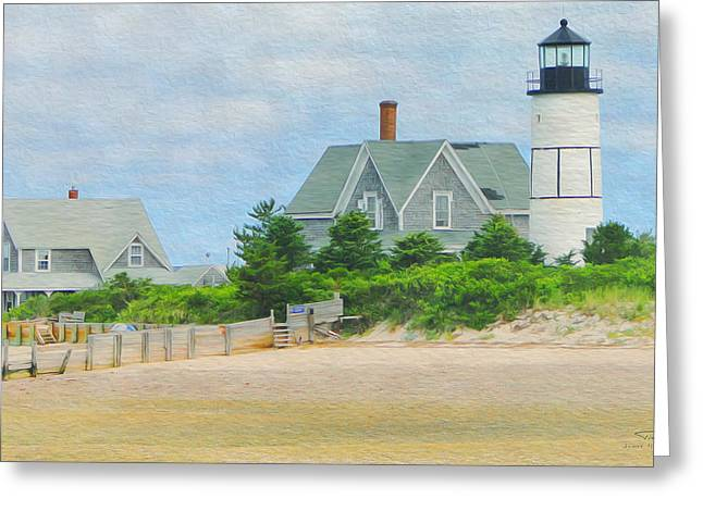 Paint D - Cape Cod 01 Greeting Card by Joost Hogervorst