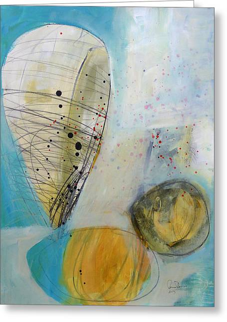 Paint Solo 3 Greeting Card by Jane Davies