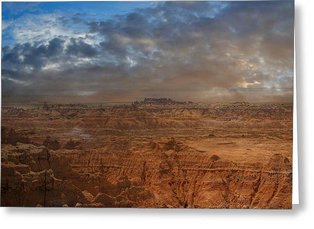 Greeting Card featuring the photograph Painted By Nature by Judy Hall-Folde