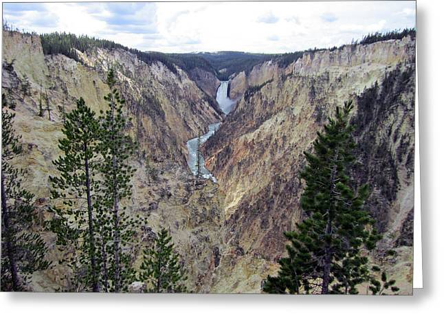 Painted Canyon 2 Greeting Card by Mike Podhorzer