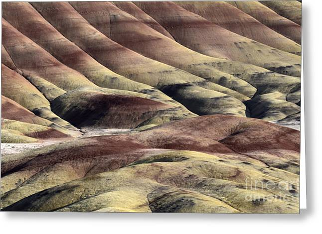 Painted Hills Oregon 11 Greeting Card by Bob Christopher