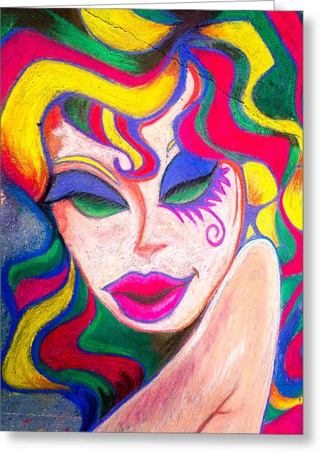 Painted Lady 3 Greeting Card