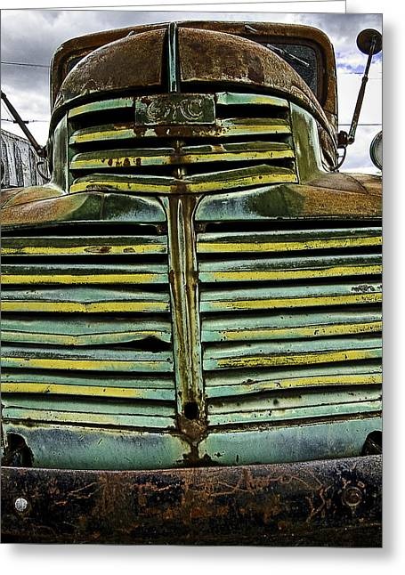 Painted With Rust Greeting Card by Gary Neiss