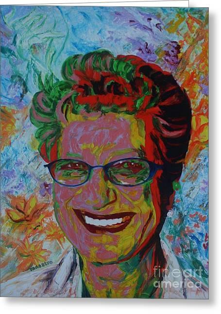 Painterartist Fin Greeting Card by PainterArtist FIN