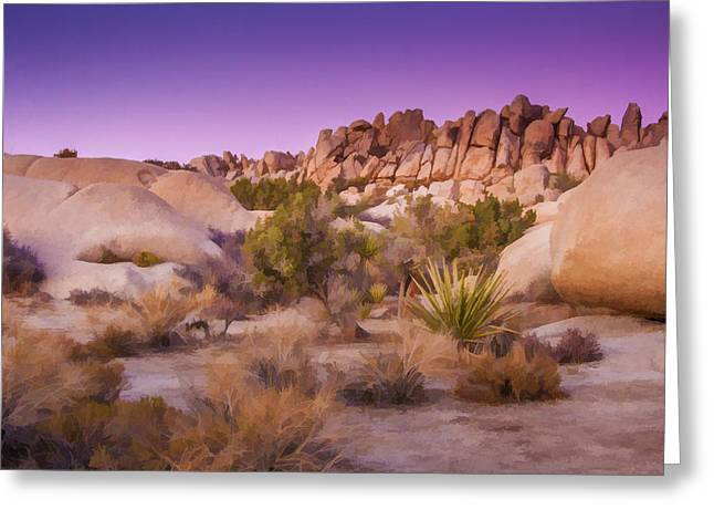 Painterly Desert Greeting Card