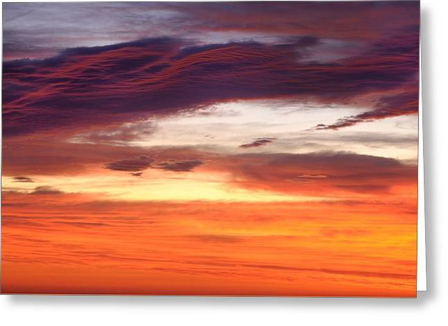 Greeting Card featuring the photograph Painterly Sunrise On The Blue Ridge Parkway by Photography  By Sai