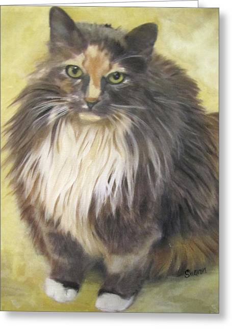 Painting Of Shelby Greeting Card