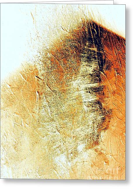 Painting With Shadows Greeting Card by Jacqueline McReynolds