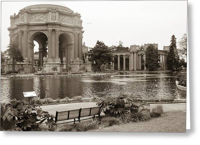 Greeting Card featuring the photograph Palace Of Fine Arts by Hiroko Sakai