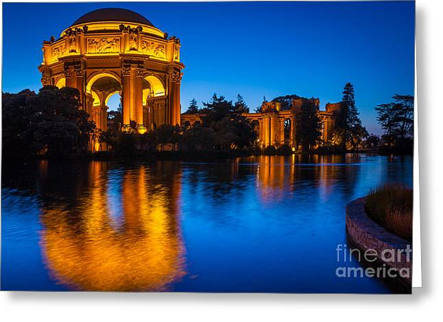 Palace Of Fine Arts Greeting Card by Inge Johnsson
