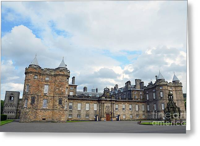 Palace Of Holyroodhouse Greeting Card