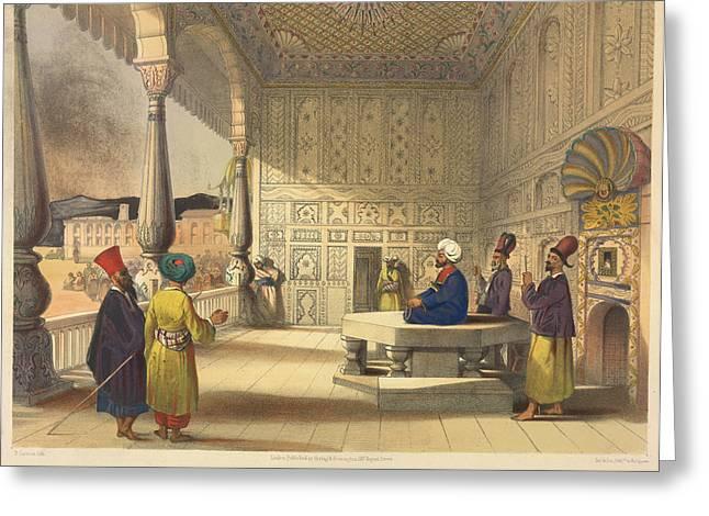 Palace Of Shauh Shujah Ool Moolk Greeting Card