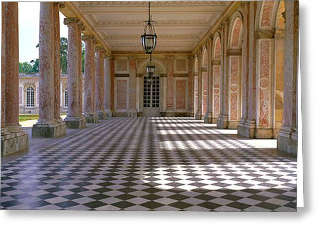 Palace Of Versailles Palais De Greeting Card by Panoramic Images