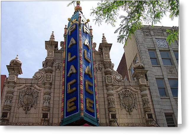 Palace Theater Greeting Card by Pamela Schreckengost
