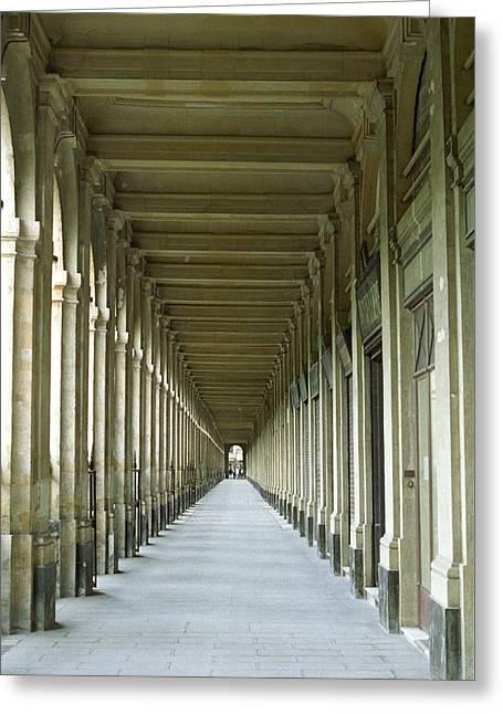 Palais Royale Greeting Card