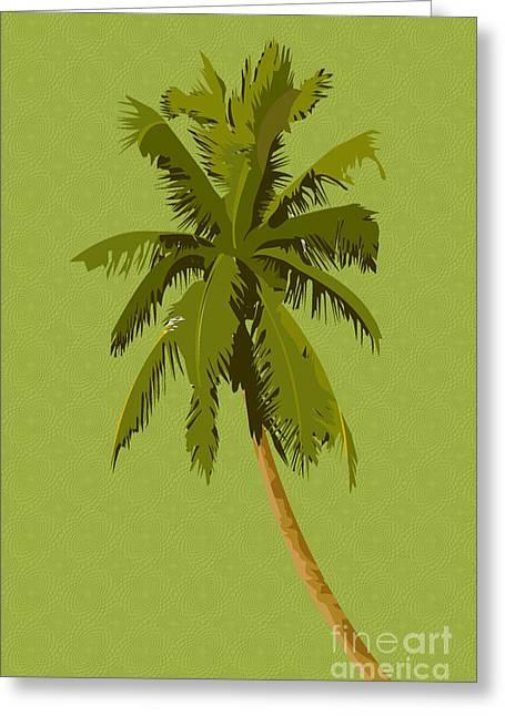 Palm Breeze Greeting Card