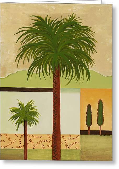 Palm Desert Greeting Card by Carol Sabo